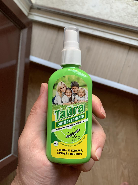 средство от комаров Тайга